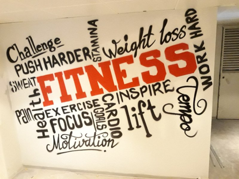 Fitness Graffitici